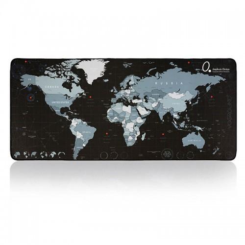 World Map Desk Mat