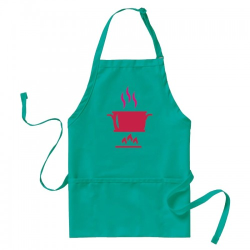 Restaurant staff, cooks, concession workers, artists and more will appreciate the simple convenience of this bib-style apron.