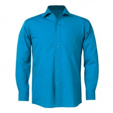 This comfortable long-sleeve Shirt gives you a professional look with casual comfort.