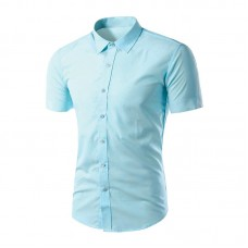 Soft hues complement the short-sleeve, lightweight Shirt