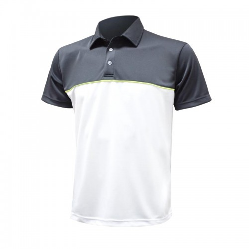 This custom polo is the perfect blend between business-ready and sporty.