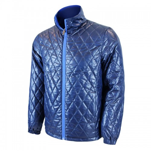 This jacket keeps you warm and dry, even when it starts to sprinkle.