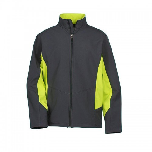 Colorblock Soft Shell Jacket