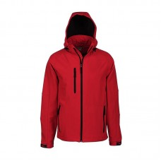 Hooded Bonded Soft Shell Jacket
