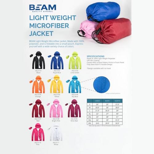 Light  Weight Microfiber Jacket