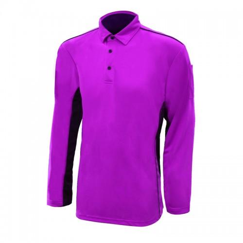 Easy Blend Long Sleeve Polo