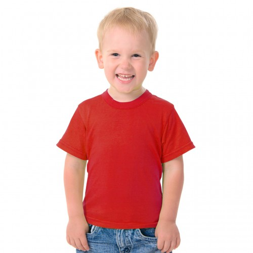 Kids Size T-shirt - Red