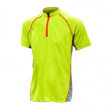 ZIp Up Sport Polo Tee