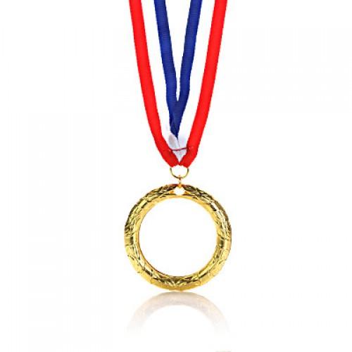 Leafy Frame Acrylic Medal