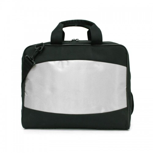 Silver Document Bag