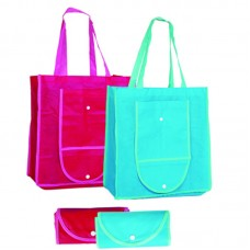 Foldable Shopping bag with button