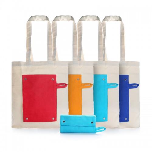 Foldable Canvas Tote Bag