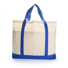 Voltrax Two-Tone Cotton Tote Bag