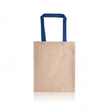 Two Tone Juco Tote Bag