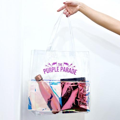 Hologram PVC Tote Bag