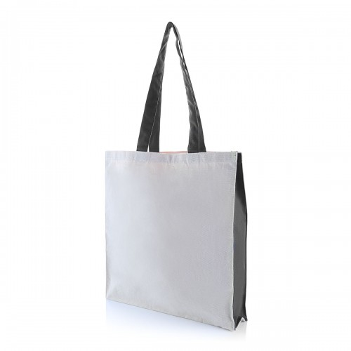 TWO SIDE COLOR TOTE BAG