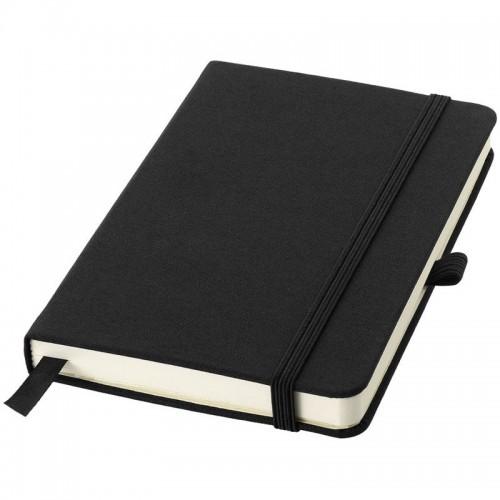 Balmain Notebook Midi A5 Black (Cardboard with fabric)