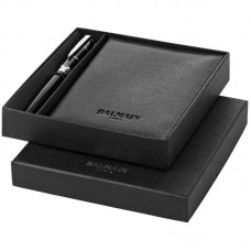 Balmain Vela Pen Gift Set, Black