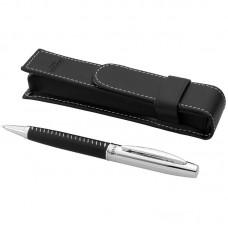 Balmain Ballpoint Pen, Black (Metal and Imitation Leather)