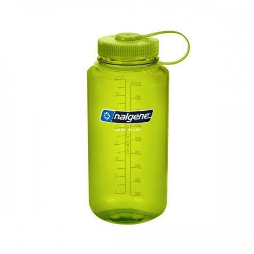 Nalgene 32oz Wide Mouth Bottle - Spring Green
