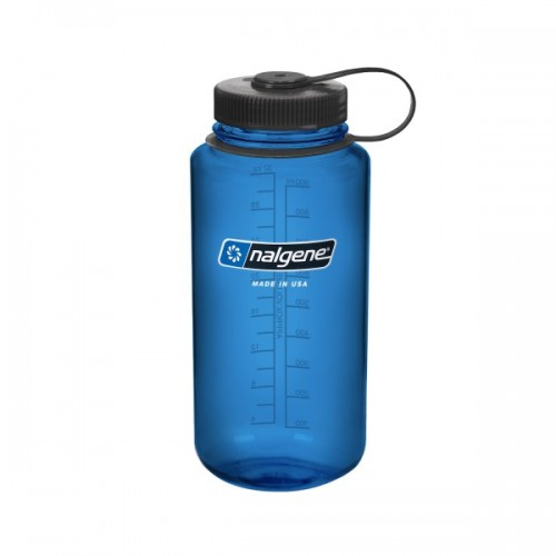 Nalgene 32oz Wide Mouth Bottle - Blue