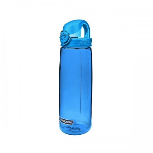 Nalgene 24oz On The Fly Bottle (OTF) - Blue w/Glacial Blue Cap