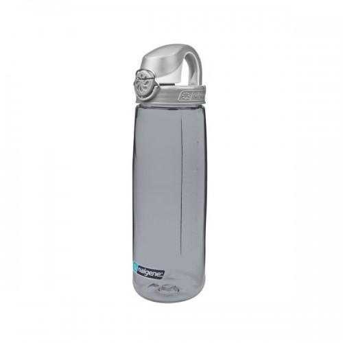 Nalgene 24oz On The Fly Bottle (OTF) - Smoke w/Gray Cap