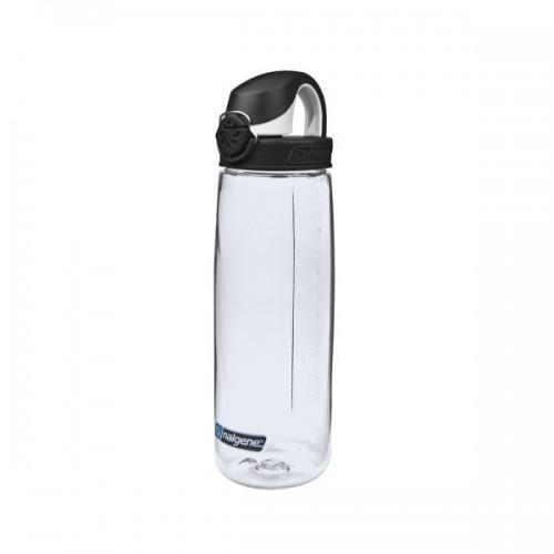 Nalgene 24oz On The Fly Bottle (OTF) - Clear w/Black Cap