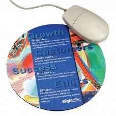 Round Sublimated Mouse Pad