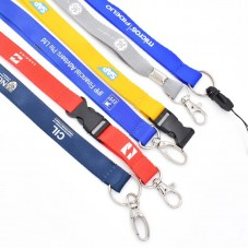 Customized Rubber Print Lanyards