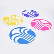 Customized Silicone Coaster Set