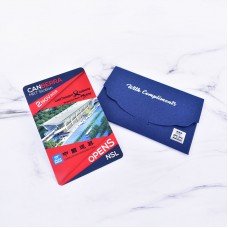 Customized EZ-Link Card with Sleeve Packaging