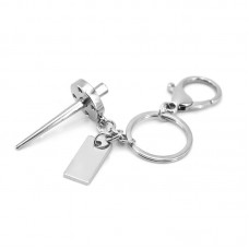 Customized Shaped Metal Keychain
