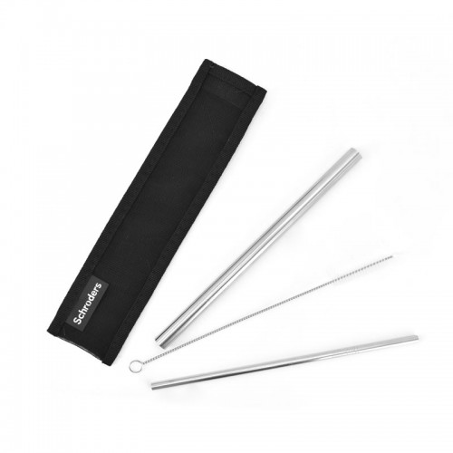 Customized Stainless Steel Straw & Pouch