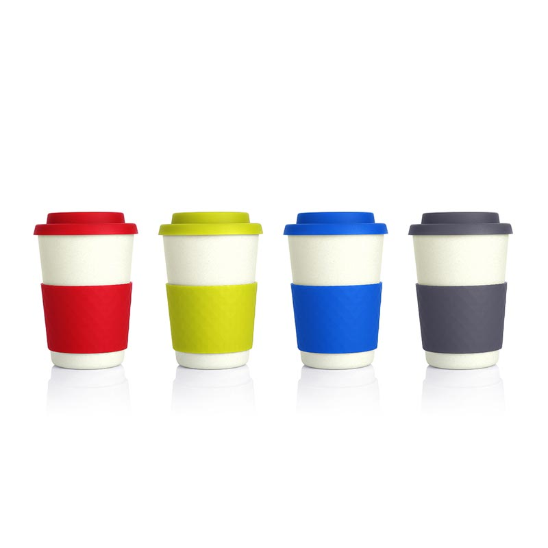 Diamanten Bambus Geometric Bamboo Cup Eco Friendly Promotional Cup