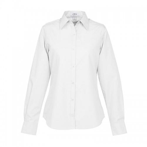 Blended Poplin Business Shirt