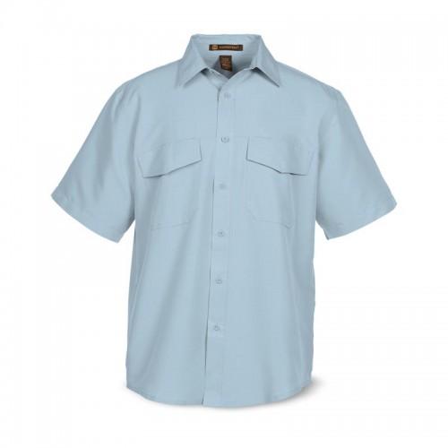 Twill Short Sleeve Dress Shirt