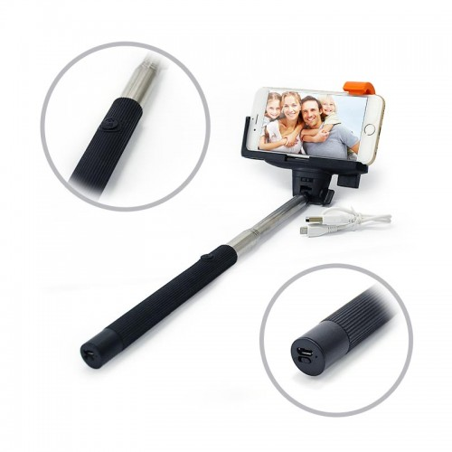 2 in 1 Bluetooth Selfie Stick Monopod
