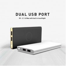 Dual USB Port Wireless Portable Charger