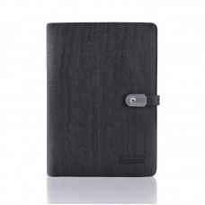 Power bank with 6 ring portfolio c/w 16GB USB Flashdrive ( 8000mAh Powerbank)