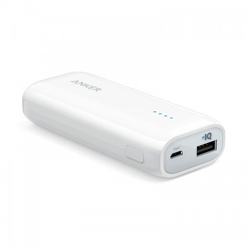 Anker Astro E1 5200mAh Power Bank White