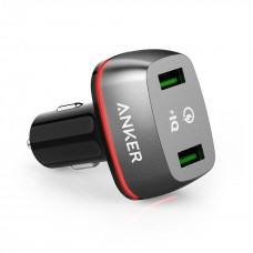 ANKER POWERDRIVE+ 2 WITH QUICK CHARGE 3.0 BLACK OFFLINE PACKAGING V3