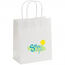 Customize White Paper Bag