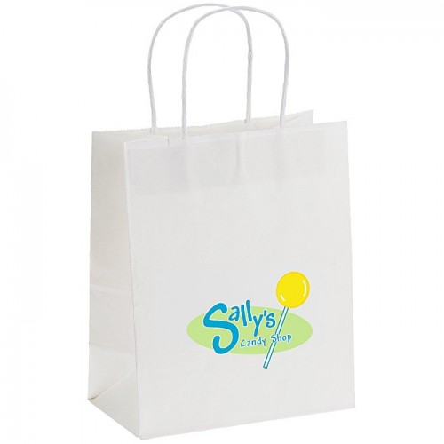 Customize White Paper Bag