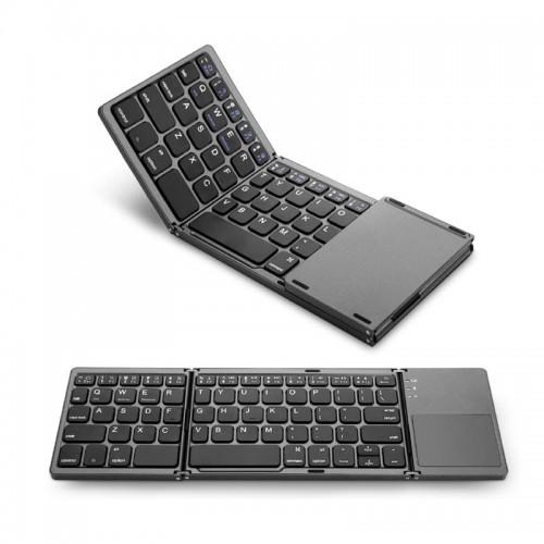 Portable Mini Wireless Fordable Keyboard
