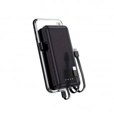 POWERBANK WITH 3 BUILT IN CABLE - 10000mAh