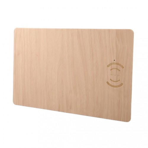 Wireless Lamination Wooden Charge cum Mousepad