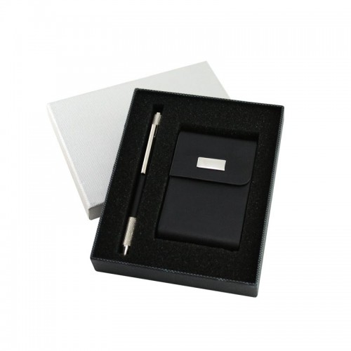 Name Card Holder and Pen In Set