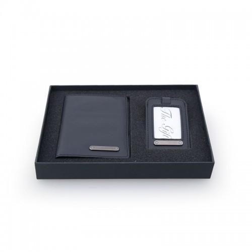Nelkey Card Case With Metal Pen