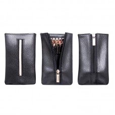 West Side Leather Key Pouch (Black)